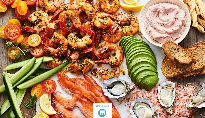 Summer nutrition - Seafood