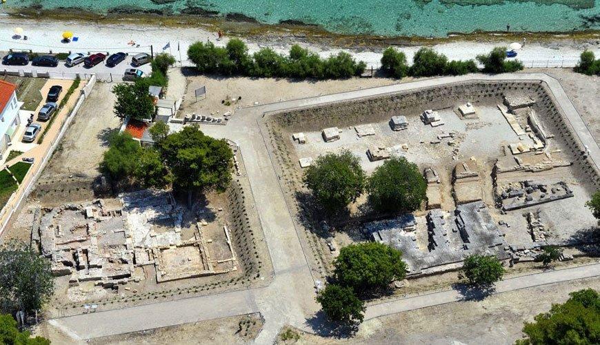Temple of Ammon Zeus in Kallithea