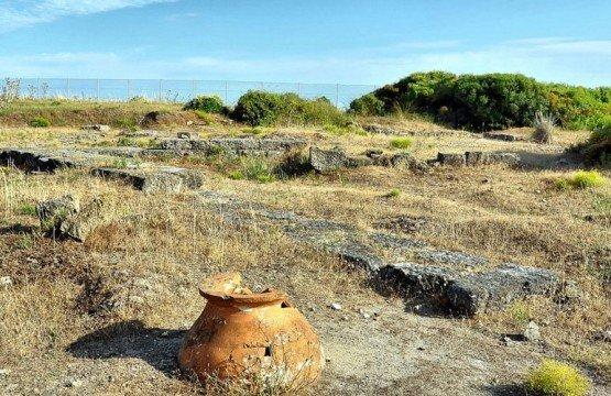 Temple of Poseidon in Posidi