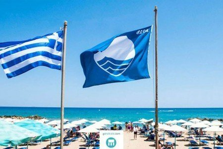 beaches awarded with Blue Flag in Halkidiki