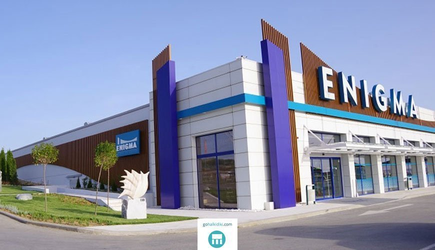 Enigma mall center, Nea Moudania