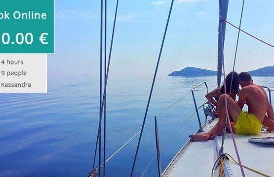 Visit Kelyfos island half day Sailing Cruise (Kassandra)