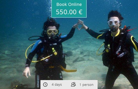 Scuba Diving Certification Course (Padi), Sithonia