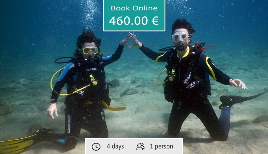 Scuba Diving Certification Course (Padi), Sithonia