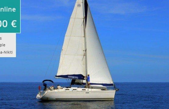 Romantic Sailing Sunset from Nikiti Sithonia