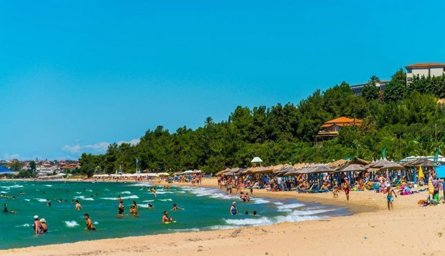 Nea Moudania Beach, West Halkidiki