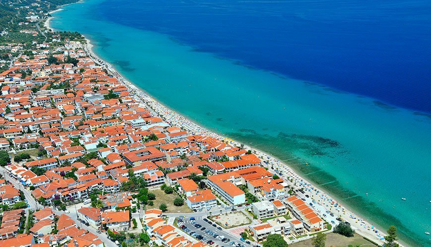 Polichrono Beach, Kassandra