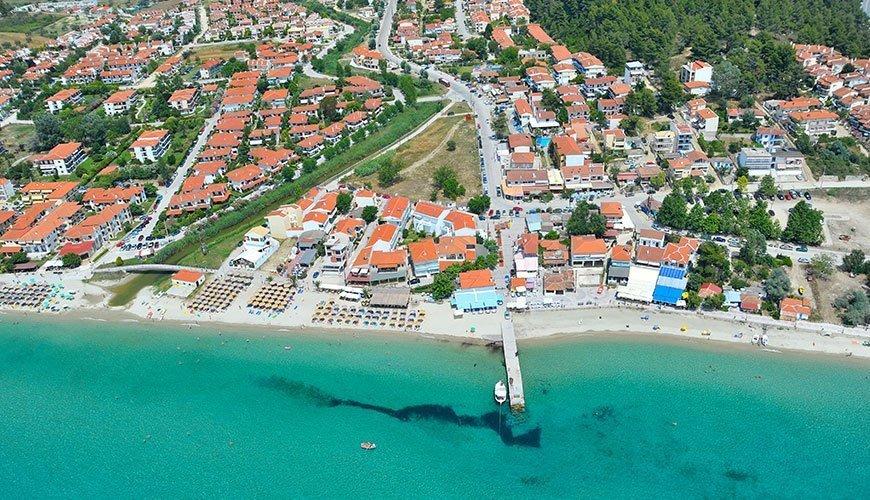 Siviri Beach, Kassandra